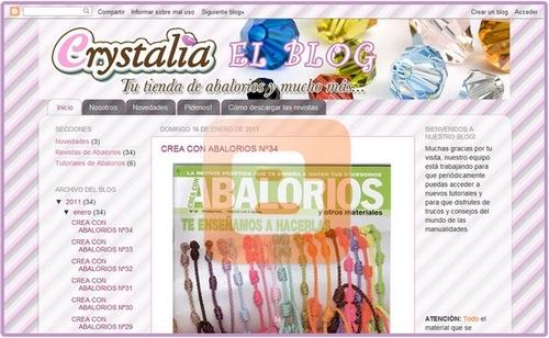 el blog de abalorios crystalia
