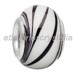 ABALORIO CRISTAL COMPATIBLE PANDORA 14x14x10mm ref: 063