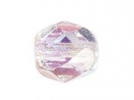 BOLA FACETADA CHECA CRISTAL AB 2X 6mm (20 uds.)