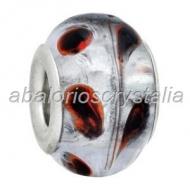 ABALORIO CRISTAL COMPATIBLE PANDORA 14x14x10mm ref; 088