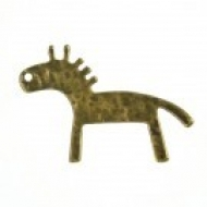 COLGANTE ANIMAL BRONCE 28x19x1mm