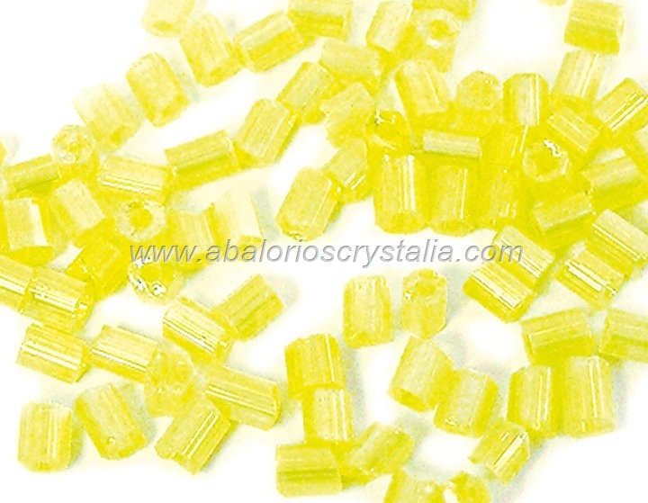 20 GR ROCALLA MINI CANUTILLO 2.5x2mm AMARILLO AB