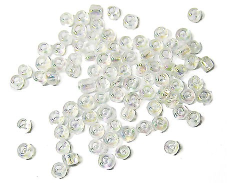 20 GR ROCALLA 7/0 (3mm) TRANSPARENTE AB