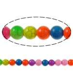 20 BOLAS HOWLITA MIX DE COLORES 6mm