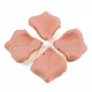 100 Pétalos de Rosa de tela 5x5cm Seda