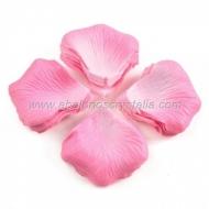 100 Pétalos de Rosa de tela 5x5cm Rosa 2