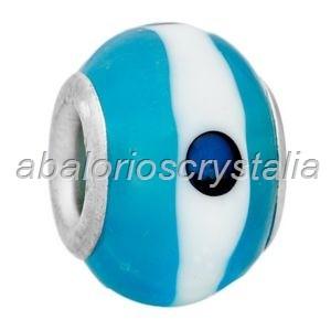 ABALORIO CRISTAL COMPATIBLE PANDORA 14x14x10mm ref: 078