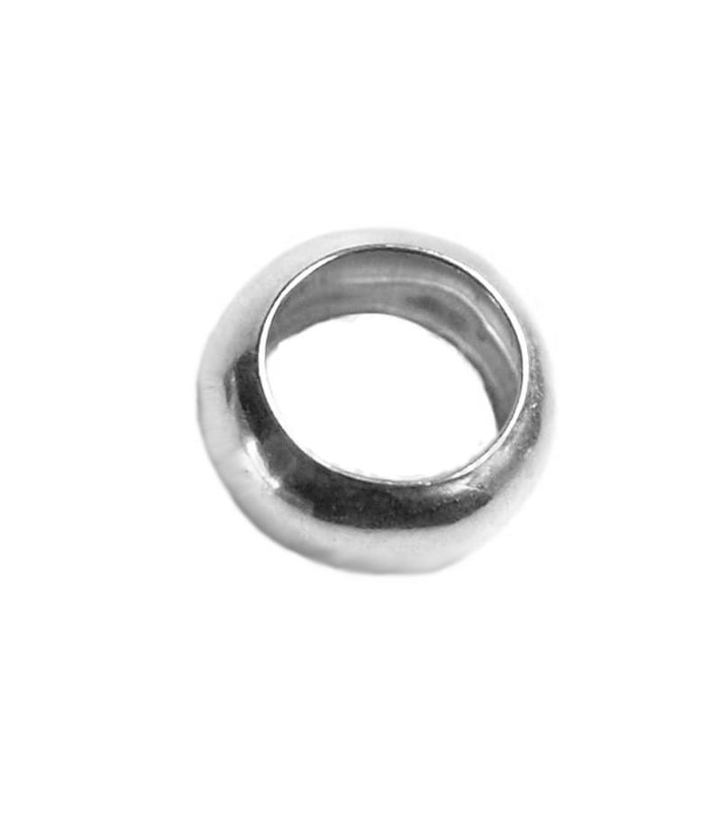 Arandela lisa 8 mm plata 925