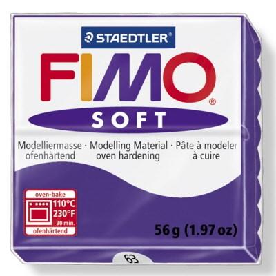 PASTILLA MODELADO 56GR FIMO SOFT PLUM-63