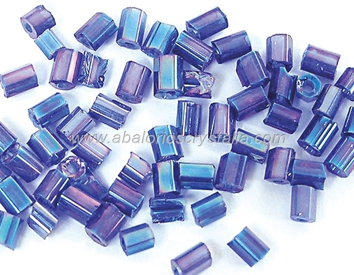 20 GR ROCALLA MINI CANUTILLO 2.5x2mm AZUL MARINO