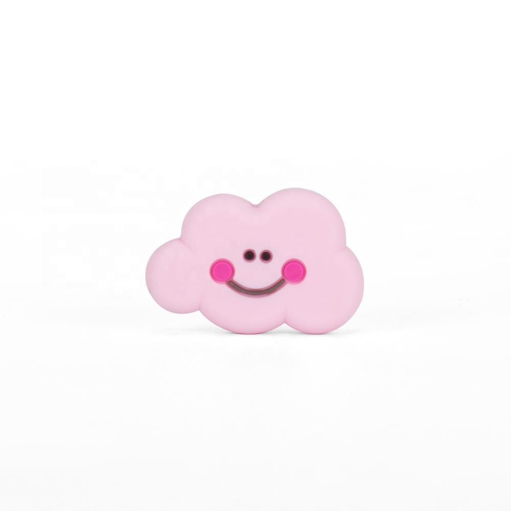 1 Nube silicona Rosa 30mm