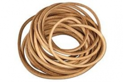 Cordón de cuero 1mm