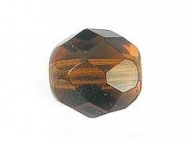 BOLA FACETADA CHECA SMOKED TOPAZ 4mm (20 uds.)
