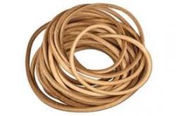 Cordón de cuero 1,5mm