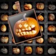 LÁMINA CON 35 IMÁGENES 25x25mm Halloween