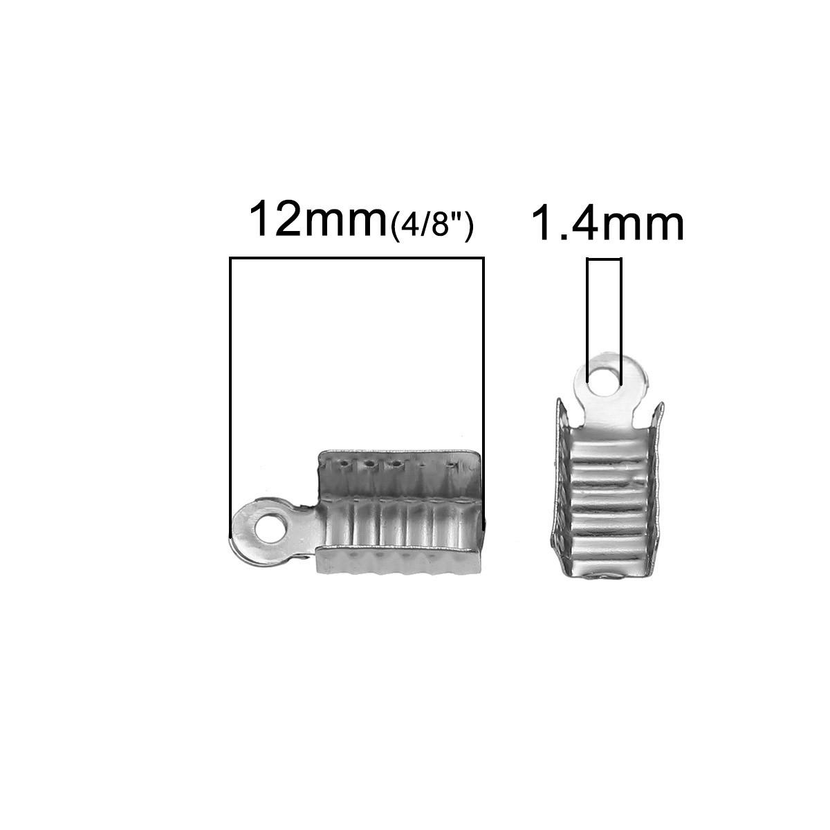 25 TERMINALES ABIERTOS MIX 4 COLORES 12x5mm