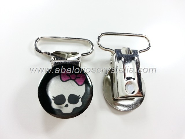 PINZA DE METAL 22mm MONSTER HIGH