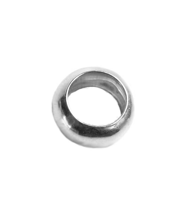 Arandela lisa 6 mm plata 925
