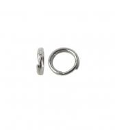 Anilla doble llaverito abierta 5 mm plata 925