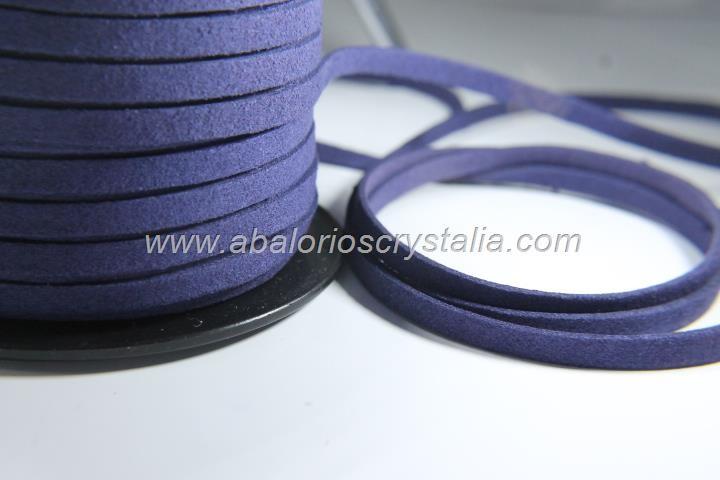 1 METRO DE ANTELINA ANCHA 5mm. AZUL MARINO
