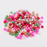 100 PERLAS DE CRISTAL 4mm MIX 5
