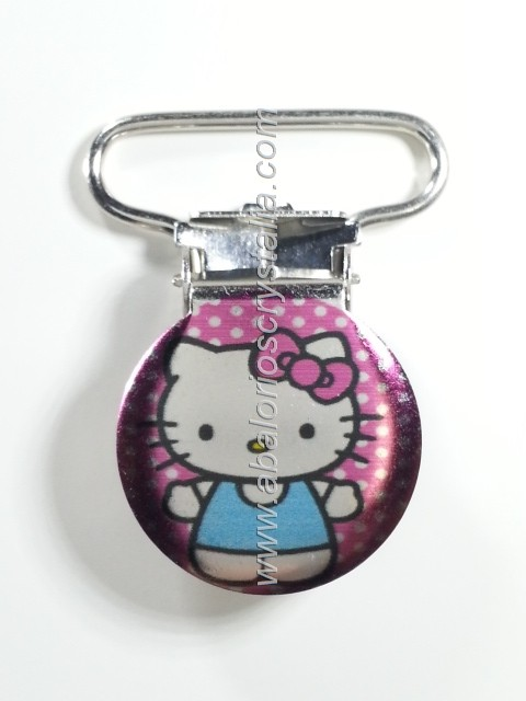 PINZA DE METAL 22mm KITTY