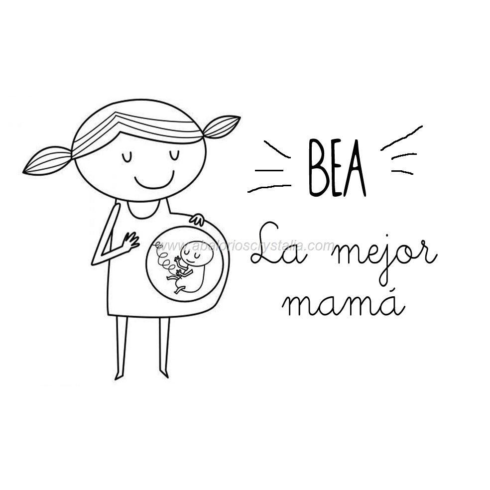 LA MEJOR MAMÁ PERSONALIZADO GRABADO EN MADERA (CON O SIN LLAVERO) CHAPA REDONDA 4x4cm