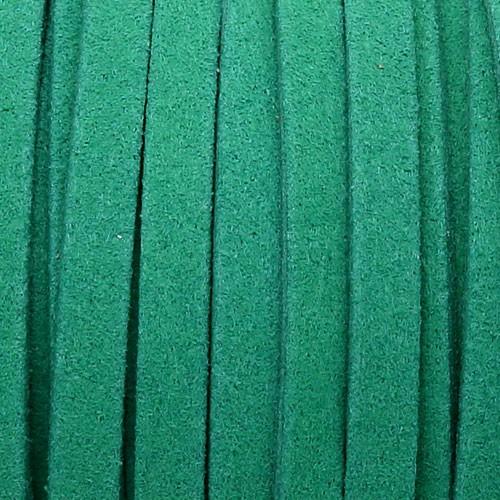 1 METRO DE ANTELINA ANCHA 5mm. VERDE OSCURO