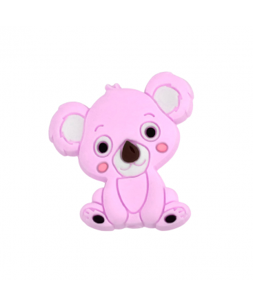 1 Koala silicona Rosa 29mm