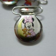 PINZA DE METAL 22mm MINNIE LUNA