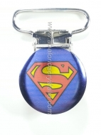 PINZA DE METAL 22mm SUPERMAN
