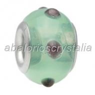 ABALORIO CRISTAL COMPATIBLE PANDORA 14x14x10mm ref: 097