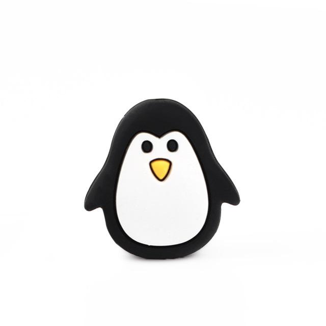 1 Pingüino silicona Negro 26mm