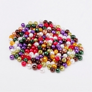 100 PERLAS DE CRISTAL 4mm MIX 9