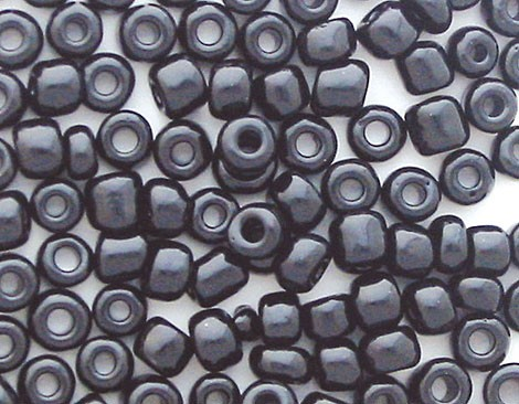 20 GR ROCALLA 10/0 (2.3mm) NEGRO OPACO