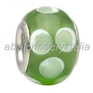 ABALORIO CRISTAL COMPATIBLE PANDORA 14x14x10mm ref: 111