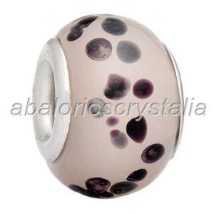 ABALORIO CRISTAL COMPATIBLE PANDORA 14x14x10mm ref: 117