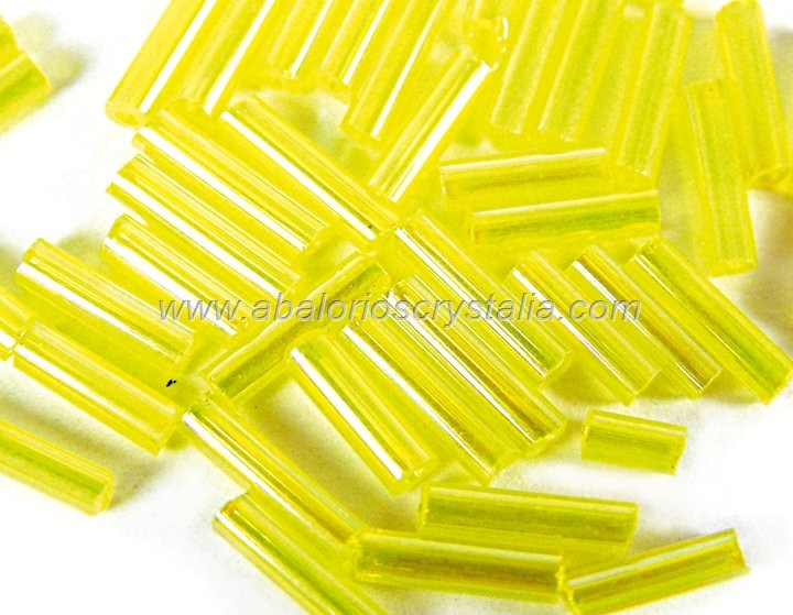 20 GR ROCALLA CANUTILLO 7x2mm AMARILLO AB