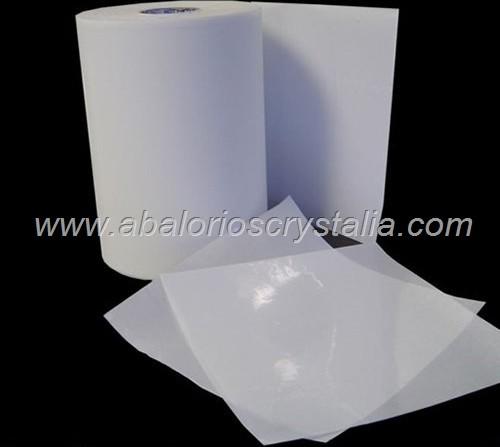 1 LÁMINA DE PAPEL TRANSFER ESPECIAL HOT FIX 30x24cm