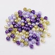 50 PERLAS DE CRISTAL 6mm MIX 8
