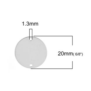 1 CONECTOR CHAPA LISA  ACERO 20mm