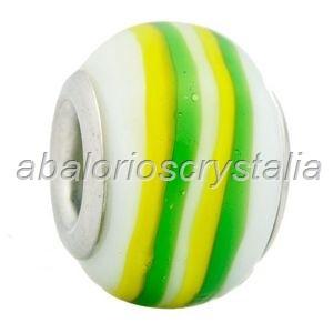 ABALORIO CRISTAL COMPATIBLE PANDORA 14x14x10mm ref: 061