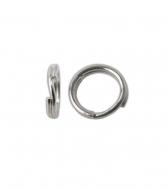 Anilla doble llaverito abierta 7 mm plata 925