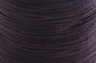 1 METRO NYLON TRENZADO 0.8mm MARRÓN OSCURO