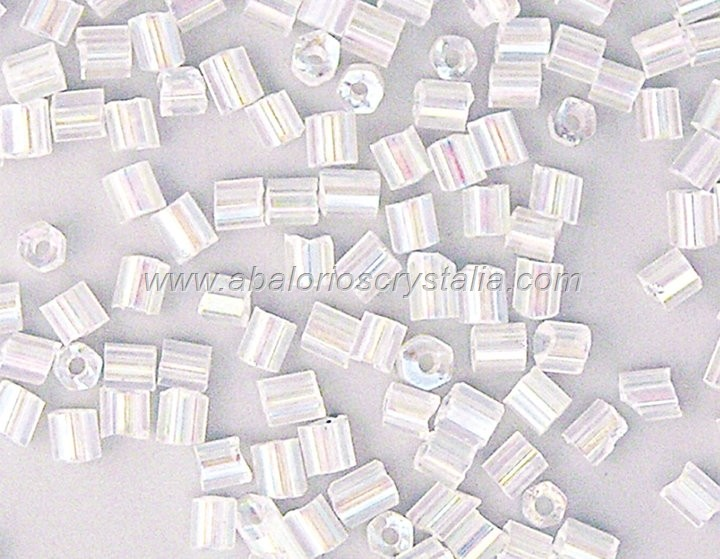 20 GR ROCALLA MINI CANUTILLO TRANSPARENTE AB  2.5x2mm