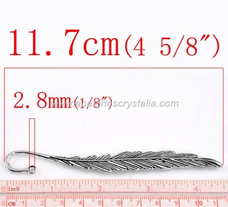 1 MARCAPÁGINAS PLUMA 115mm
