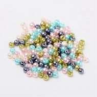50 PERLAS DE CRISTAL 6mm MIX 12