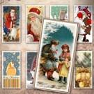 LÁMINA FOTOGRÁFICA CON 24 IMÁGENES 23.5x47.8mm Navidad