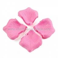 100 Pétalos de Rosa de tela 5x5cm Rosa 3