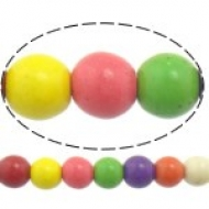 10 BOLAS HOWLITA MIX DE COLORES 10mm